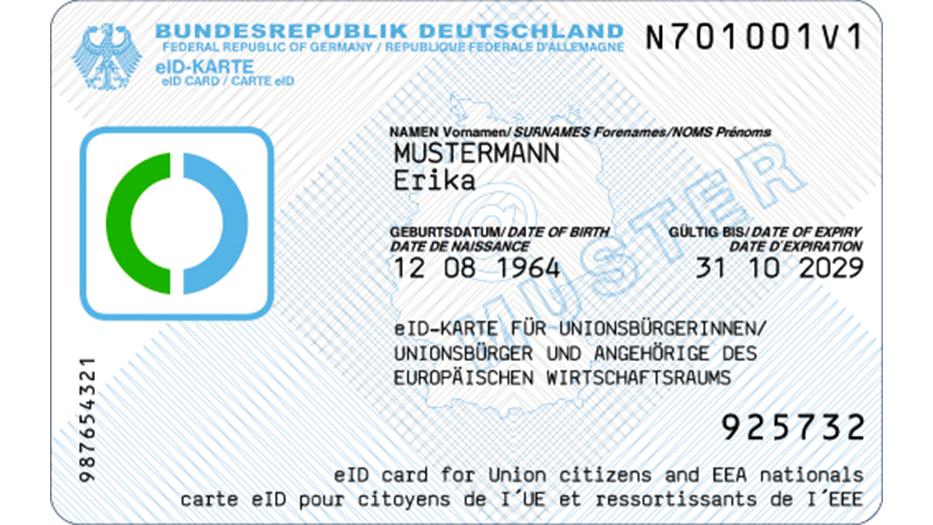 Ausweis nummer BZSt